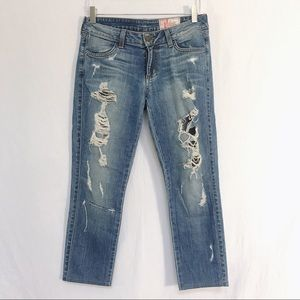 {SIWY} Hannah Distressed Jeans in Beach Bum
